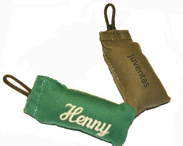 Juventas Dummy-Schlüsselanhänger mit Name bestickt