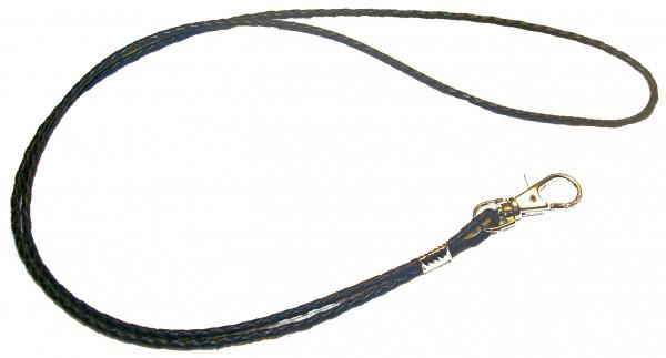 Juventas Pfeifenband Leder-geflochten