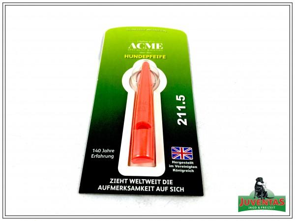 Acme Whistle 211,5, Pfiff, ohne Pfeifenband