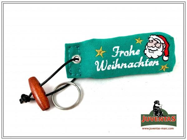 Juventas Dummy-Schlüsselanhänger mit Weihnachtsmann