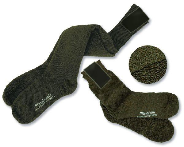 Gesundheitsstrumpf Vollplüsch Thermo-Socke